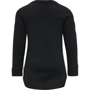 hmlASTRALIS MAUI BODY L/S, BLACK, packshot