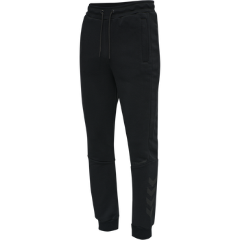 hmlFINLEY REGULAR PANTS, BLACK, packshot