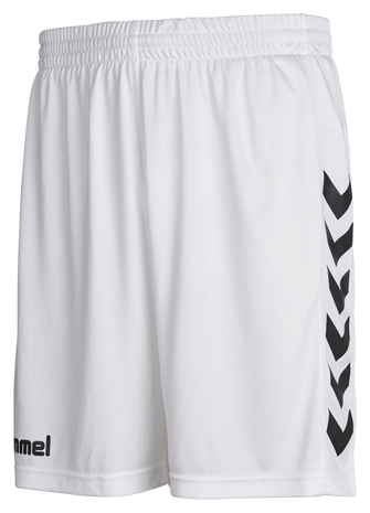 CORE POLY SHORTS, WHITE PR, packshot