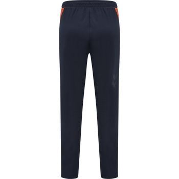 hmlACTION TRAINING PANTS WOMAN, DARK SAPPHIRE/FIESTA, packshot