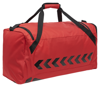 CORE SPORTS BAG, TRUE RED/BLACK, packshot