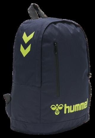 hmlACTION BACK BAG, MARINE/SAFETY YELLOW, packshot