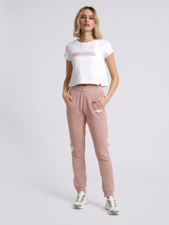 hmlLEGACY WOMAN CROPPED T-SHIRT
