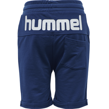 hmlFLICKER SHORTS, ESTATE BLUE, packshot