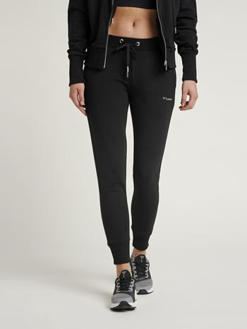 HMLBRIGI PANT, BLACK, model