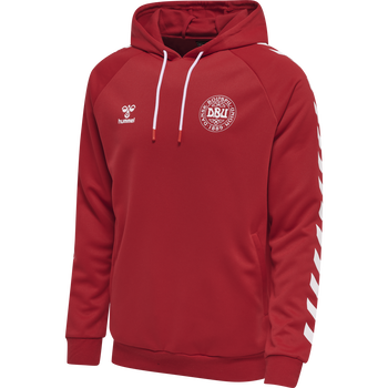 DBU FAN 2020 HOODIE SWEAT, TANGO RED, packshot