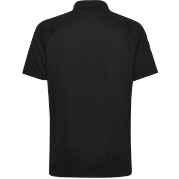 CORE FUNCTIONAL POLO, BLACK, packshot