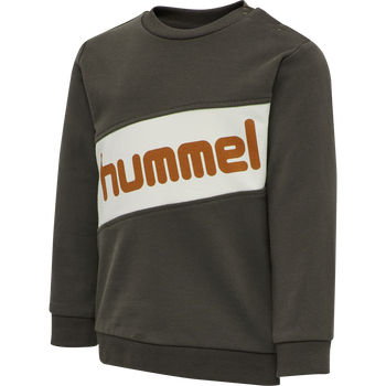 hmlCLEMENT SWEAT, BLACK OLIVE, packshot