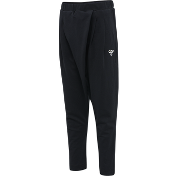 hmlANDREA PANTS, BLACK, packshot