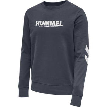 hmlLEGACY SWEATSHIRT, BLUE NIGHTS, packshot