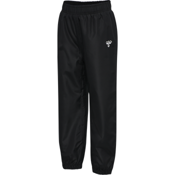 hmlTARO PANTS, BLACK, packshot