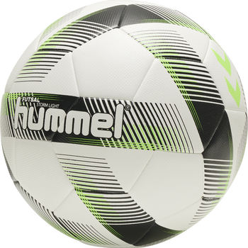 FUTSAL STORM LIGHT FB, WHITE/BLACK/GREEN, packshot