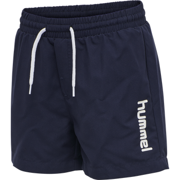 hmlBONDI BOARD SHORTS, BLACK IRIS, packshot