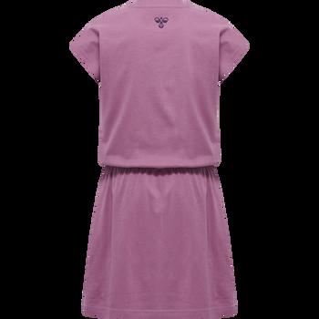 hmlSPACE JAM TWILIGHT DRESS, BORDEAUX, packshot