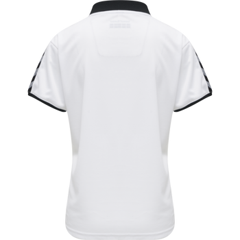 hmlAUTHENTIC WOMAN FUNCTIONAL POLO, WHITE, packshot