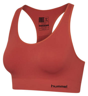 SUE SEAMLESS SPORTS TOP, CHILI, packshot