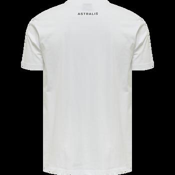 ASTRALIS T-SHIRT S/S, WHITE, packshot