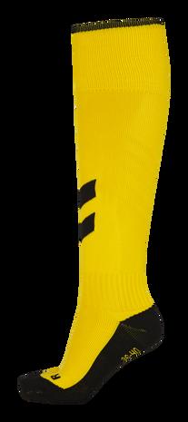 FUNDAMENTAL FOOTBALL SOCK, SPORTS YELLOW/BLACK, packshot