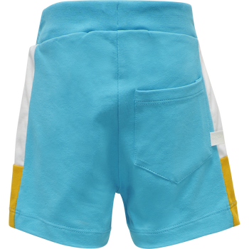 hmlANTON SHORTS, SCUBA BLUE, packshot