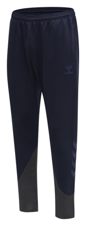 hmlACTION TRAINING PANTS KIDS, MARINE/ASPHALT, packshot