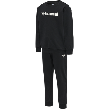 hmlSPRING TRACKSUIT, BLACK, packshot