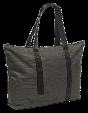 URBAN SHOULDER BAG, BLACK MELANGE, packshot
