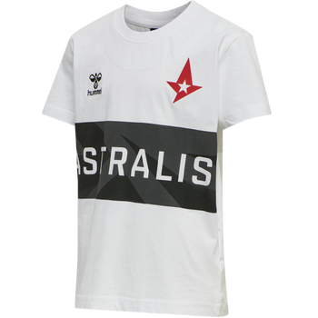 ASTRALIS T-SHIRT S/S KIDS, WHITE, packshot