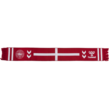 DBU FAN 2020 HEAVY SCARF, TANGO RED/WHITE, packshot