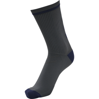 hmlACTION INDOOR SOCK LOW, ASPHALT/MARINE, packshot