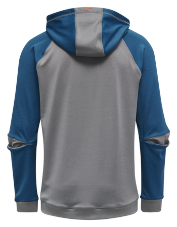 hmlINVENTUS ZIP HOODIE SWEAT, BLUE SAPPHIRE/SHARKSKIN, packshot