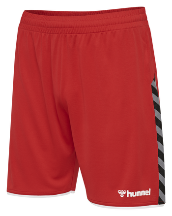 hmlAUTHENTIC POLY SHORTS, TRUE RED, packshot
