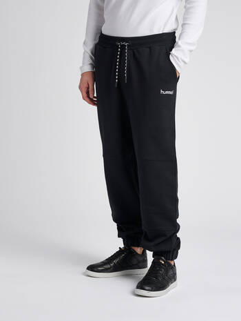 hmlLAKRIDS PANTS, BLACK, model