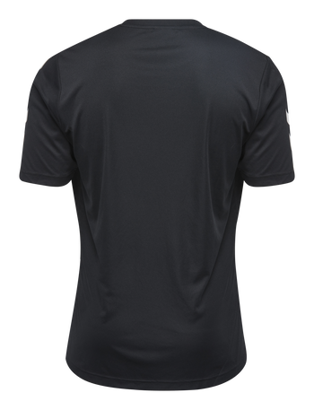 CORE POLYESTER TEE, BLACK, packshot