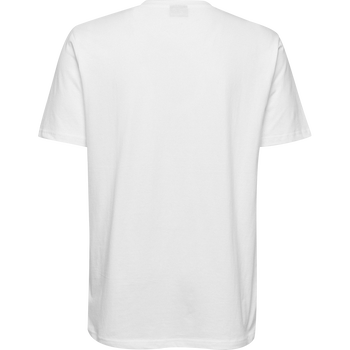 HUMMEL GO KIDS COTTON LOGO T-SHIRT S/S, WHITE, packshot