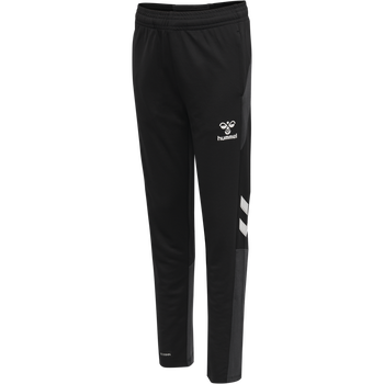 hmlLEAD FOOTBALL PANTS KIDS, BLACK, packshot