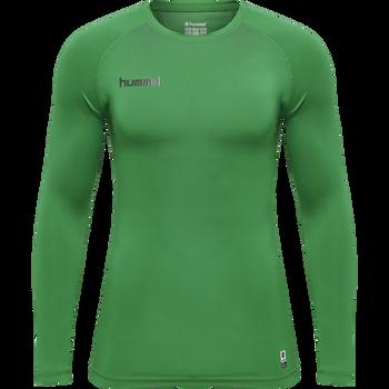 HUMMEL FIRST PERFORMANCE JERSEY L/S, JELLY BEAN, packshot
