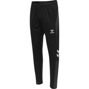 hmlLEAD FOOTBALL PANTS, BLACK, packshot