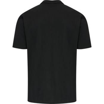 ASTRALIS COTTON POLO, BLACK, packshot