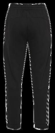 hmlAUTHENTIC KIDS SWEAT PANT, BLACK/WHITE, packshot