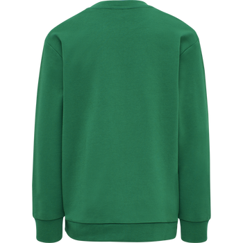 HMLDOS SWEATSHIRT, ULTRAMARINE GREEN, packshot