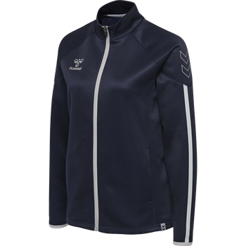 hmlCIMA ZIP JACKET WOMAN, MARINE, packshot