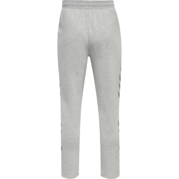 hmlLEGACY TAPERED PANTS, GREY MELANGE, packshot