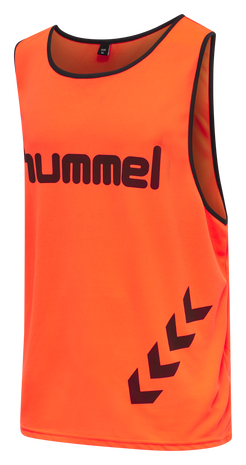 FUNDAMENTAL TRAINING BIB, NEON ORANGE, packshot