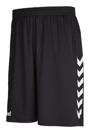 CORE BASKET SHORTS, BLACK, packshot