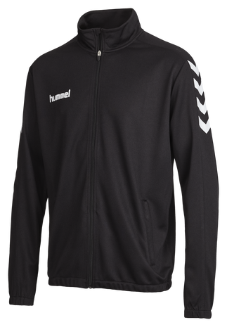 CORE POLY JACKET, BLACK, packshot
