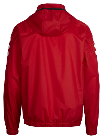 CORE SPRAY JACKET, TRUE RED, packshot