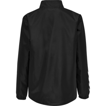 hmlPROMO RAIN JACKET KIDS, BLACK, packshot